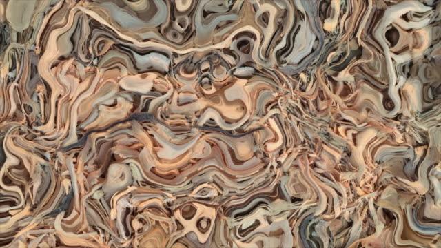 abstrakte mehrfarbige flüssige hintergrund. - digital composite stock-videos und b-roll-filmmaterial