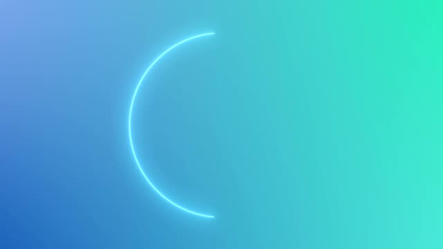 abstract neon circle loop motion background blue abstract neon circle loop motion background uk border stock videos & royalty-free footage