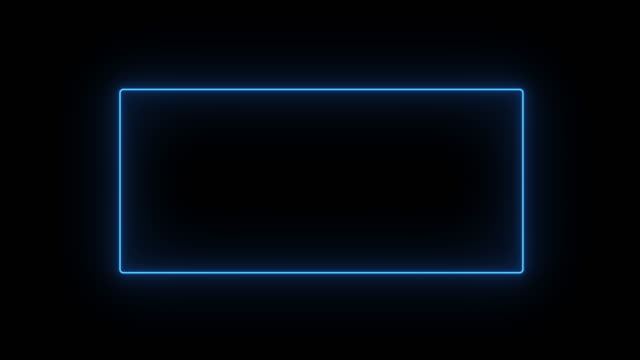 4K Abstract neon glow color moving seamless art loop background abstract motion screen background animated box shapes. Loop lines colorful design, looped animation.