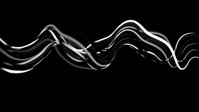 4K Abstract Neon Wavy Lines. 4K Abstract Neon Wavy Lines. Seamless loop wire mesh stock videos & royalty-free footage