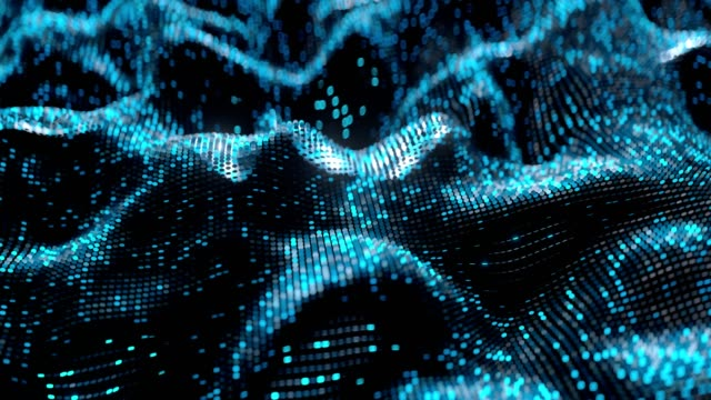 vídeos de stock, filmes e b-roll de rede neural abstrata, conceito artifical da inteligência. - joining the dots