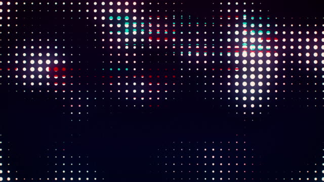 Abstrakte Noise Glitch Dots Loop – Video