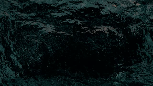 Abstract Ocean Wave Animation.