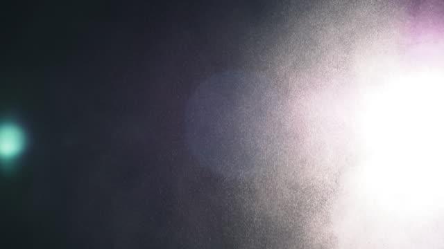 zusammenfassung des weißen pulvers und lichter - kreide weiss stock-videos und b-roll-filmmaterial