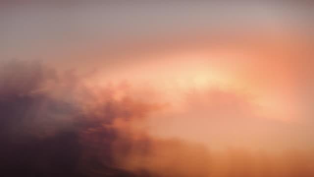 Abstract or sky background. Defocused clouds. Loop. Timelapse. Pastel pink. video