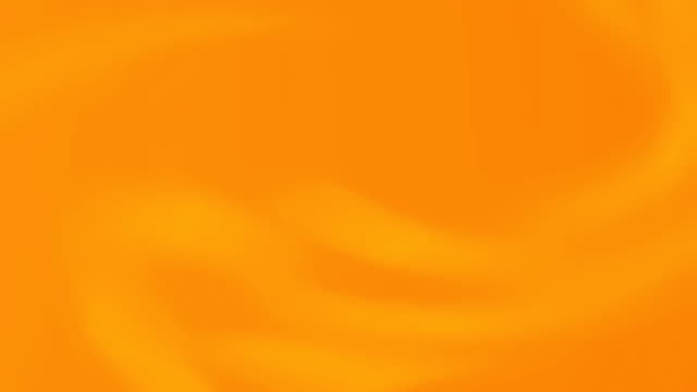 Abstract orange color light background animation with smooth blurred gradient.
