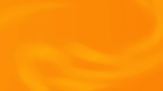 부드러운 흐린 그라데이션과 추상 오렌지 색 밝은 배경 애니메이션. - 주황색 스톡 비디오 및 b-롤 화면