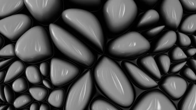 抽象的な有機表面の背景。 - デジタル合成点の映像素材/bロール