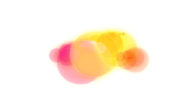クリエイティブアブストラクト ペイント アニメーション - 球形点の映像素材/bロール