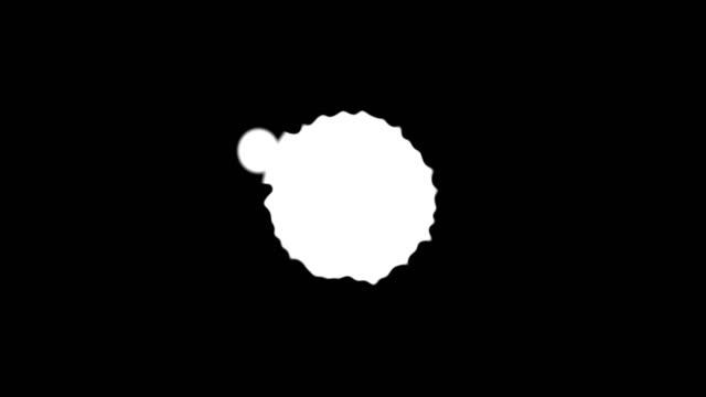 stockvideo's en b-roll-footage met abstracte verf penseelstreek vorm witte inkt gespat stroomt en wassen op chroma key groen scherm, inkt splatter splash effect - bespatterd