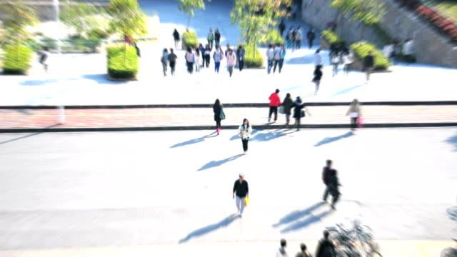 抽象的な人は、通勤・通学 ビデオ