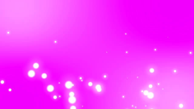 4k abstract pink background with shining bokeh sparkles. smooth animation looped. place for your logo and text. abstract pink or purple bokeh particles seamless loop. - soft focus video stock e b–roll