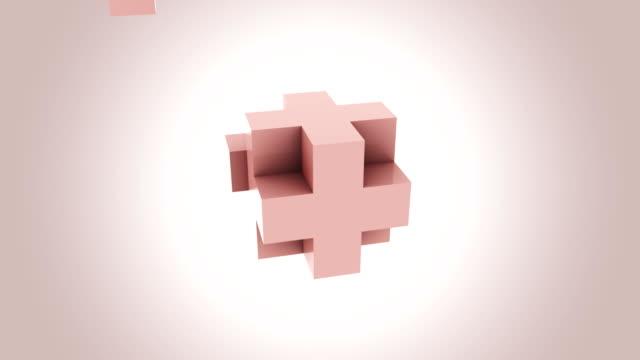 vidéos et rushes de cube rose abstrait assembler sans cesse. notions d'addition, de croissance et d'expansion. fond de mouvement bouclables transparente fullhd. prores, alpha - vue partielle