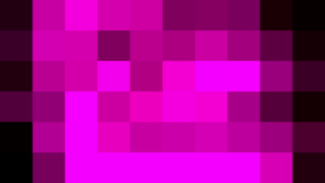 abstract pixel block retro moving background new quality universal motion dynamic animated colorful joyful dance music video footage - holiday background filmów i materiałów b-roll