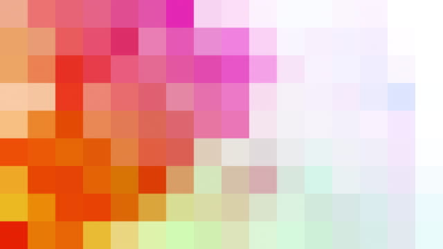 Abstract Pixelated Background An animated and abstract pixelated background in 4K resolution. square composition stock videos & royalty-free footage