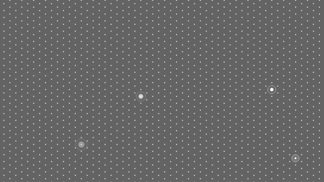 abstract point background with animation of lines and dots