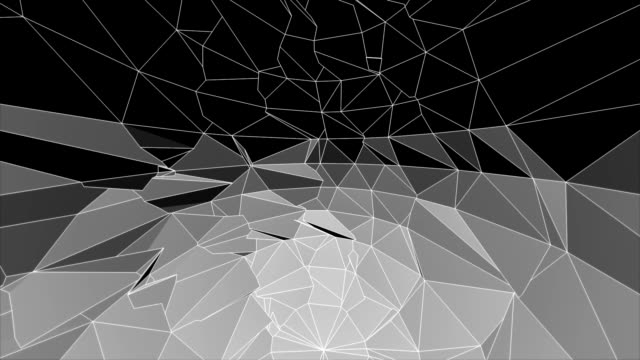 abstract polygonal background HD Animation video