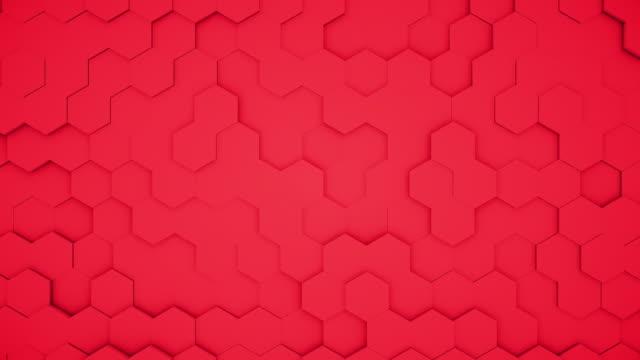 abstract polygonal geometric surface random waving