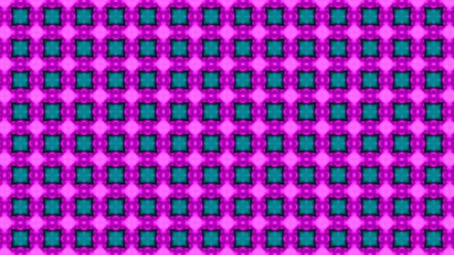 abstrakt lila färgat kalejdoskop eller mandala. - blommönster bildbanksvideor och videomaterial från bakom kulisserna