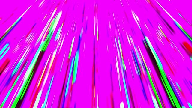 ピンクの抽象的な雨 - 玉虫色点の映像素材/bロール