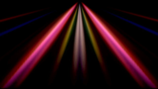 abstract rainbow video
