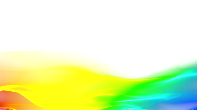 Abstract rainbow wave motion background video
