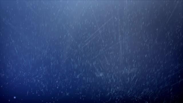 Abstract Raindrops Falling, Seamless Looping video