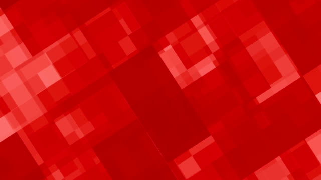 Abstract red blocks background. video