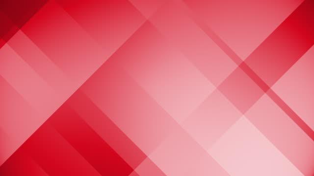 Abstrakte rote Blöcke, die sich eine Rechteckschleife bewegen. Magische glänzende Bewegung Grafiken Quadrat. (Loopable) – Video