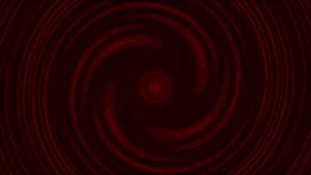 Abstract Red Twisted tunnel stock video loopable 4k