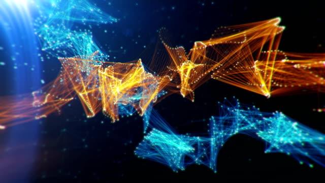 vidéos et rushes de contexte scientifique abstrait - entonnoir