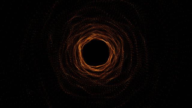 abstrakte nahtlose tunnel bewegung hintergrund - kreis stock-videos und b-roll-filmmaterial