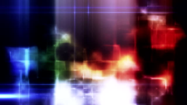 Abstract shapes background loop video
