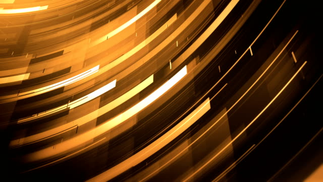 Abstract Shapes Background (Gold) - Loop Beautiful background animation, seamlessly loopable. metallic stock videos & royalty-free footage
