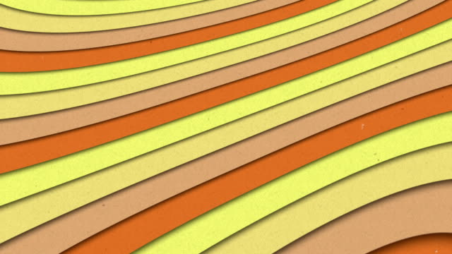 Abstract Shapes Colorful Stripes Waves Seamless Looping Animated Texture video