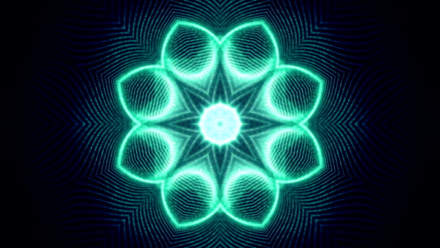 Abstract shapes symmetry loop video