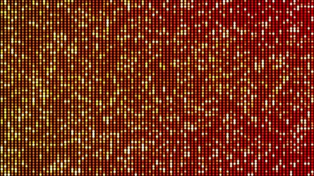 抽象的な輝く背景ループ - 対称点の映像素材/bロール