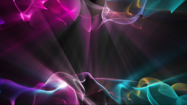 Abstract Shiny Wave Background video