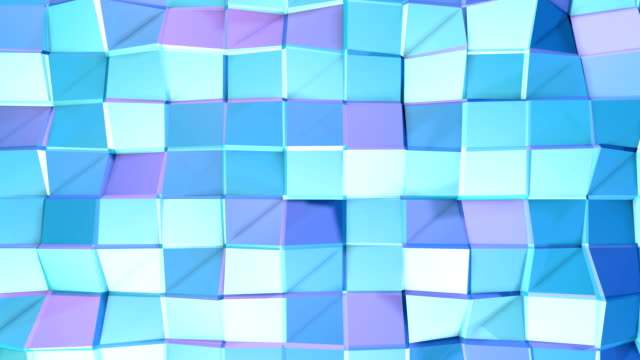 Abstract simple blue violet low poly 3D surface as lovely background. Soft geometric low poly motion background of shifting pure blue violet polygons. 4K Fullhd seamless loop background Abstract simple blue violet low poly 3D surface as lovely background. Soft geometric low poly motion background of shifting pure blue violet polygons. 4K Fullhd seamless loop background. mottled stock videos & royalty-free footage