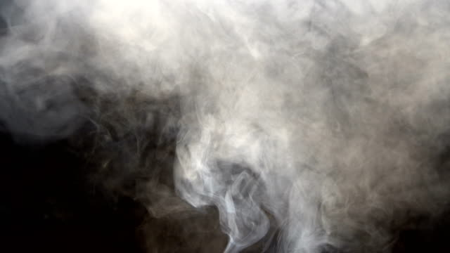 Abstract Smoke Clouds, All Movement Blurred, intention out of focus video