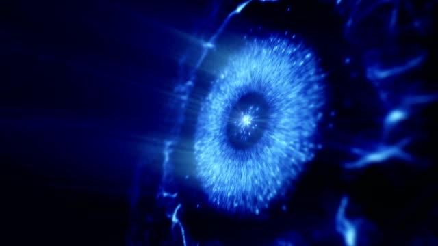 stockvideo's en b-roll-footage met abstracte ruimte of tijd reizen concept achtergrond, intergalactische exploratie supernova. - reus fictief figuur