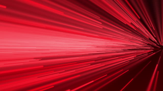Abstract speed motion in red video