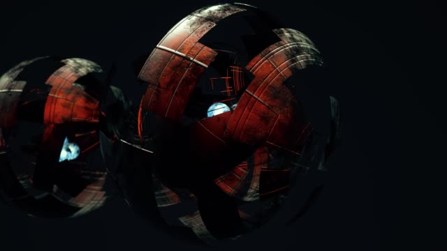 Abstract Spheres Version B