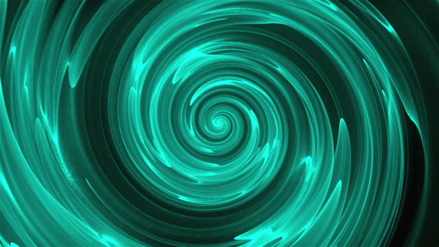 Abstract spiral rotating lines, computer generated, 3D render background