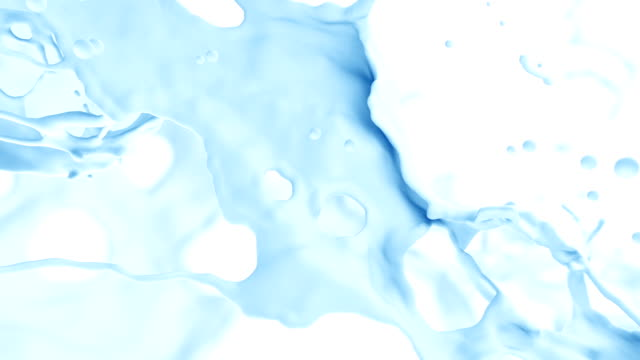 Abstract Splash of Water video