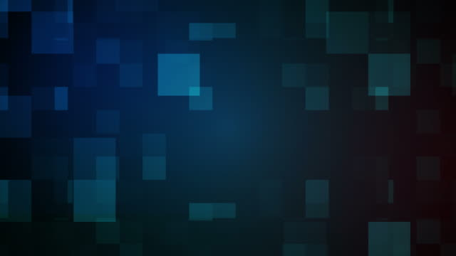 abstract squares background - блок стоковые видео и кадры b-roll
