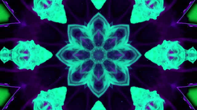 Abstract star ornament video. video