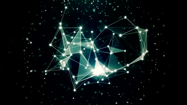 Abstract Stars Constellation in Motion video