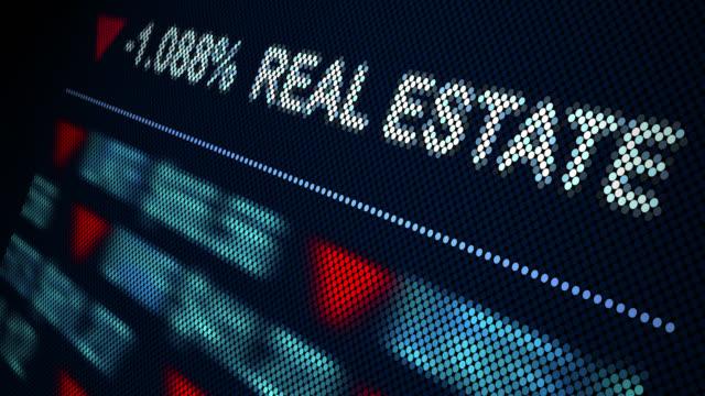 抽象的な株価指数 - 不吉点の映像素材/bロール