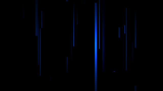 Abstract stream motion background.Blue lines vertical moving background.Modern lines art.